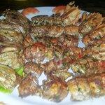 D.fried mantis prawn