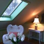 Second floor bedroom in Summer Cottage
