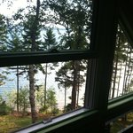 View from the second floor of the Summer Cottage
