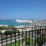 Port from our balcony
