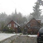 Nieve en el alaska