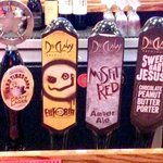 Great selection of craft brews!