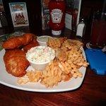 Fish and Chips.  Really good!