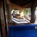Beach Suite 5 Patio