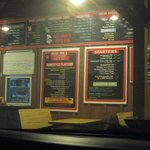 Outdoor menu and ordering