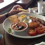 The Sun English Breakfast $5.75