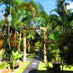 The grounds here - a private oasis