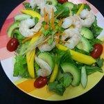 Avacado shrimp salad