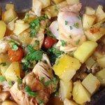 Pesce stocco con patate