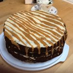 Sticky Toffee Cake with Caramel Drizzle