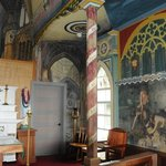 Inside Painted Church
