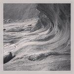 Beautiful Rock Formation at Stoke Beach 26/08/2013
