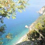 Début de randonnée vers Monterosso .