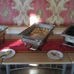 Hauptgericht am ersten Tag