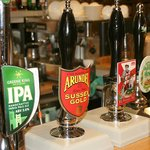 Selection of real ales