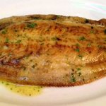 Grilled lemon sole