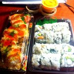 Philly, NY, and Fire Dragon rolls