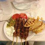 piatto souvlaki pork