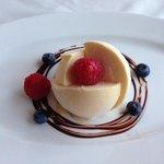 vanilla ice cream parfait