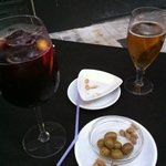 Sangria, Beer and Olives