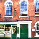 Exterior of St John Street Gallery & Café