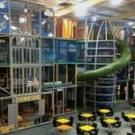 4 storey soft play with slides