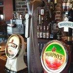 A real pint of Murphys!! Yum!