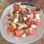 Costa's delicious Greek salad