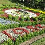 The Pannett Park Garden Clock