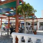 Pool restaurant area