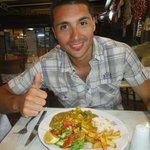 piatto a base di pollo e curry delizioso!