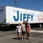 We're at the Jiffy plant