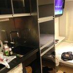 Full kitchen and washing machine