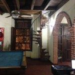 escaleras pequeñas de acceso a las habitaciones fantasma