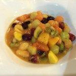 Soupe de fruits frais