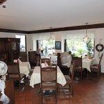Het restaurant met vele bezoekers...