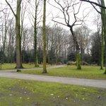 Park opposite hotel