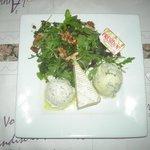 assiette de fromage, brie, 2 bleus