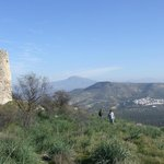Hiking from the house to medieval Moorish watchtower