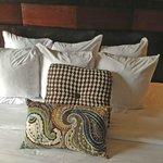 piles of pillows!