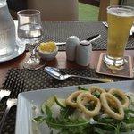Great starter - calamari rings