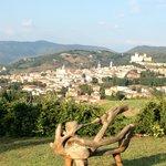 Zicht op Spoleto