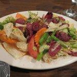 Thai sausage salad