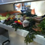 Wonderful fresh seafood delivered daily