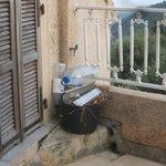 """la terrasse de la """"suite"""""""