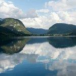 The lovely lake
