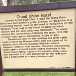 Grand Union Hotel information.