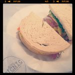 The Picnic Sandwich with Home-made Picallilli