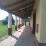 Veranda to the Roman Town House