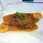 Pato a la Naranja - duck with orange sauce